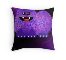 PAISLEY CAT  (card) Throw Pillow