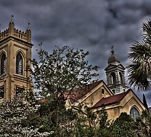 Churches in Charleston, SC by KRphotog