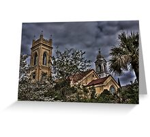 Churches in Charleston, SC Greeting Card