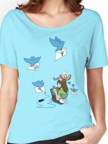 Send Your Tweets away! Women's Relaxed Fit T-Shirt