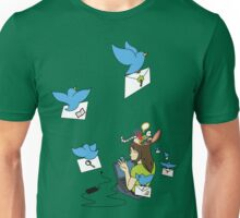 Send Your Tweets away! Unisex T-Shirt