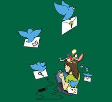 Send Your Tweets away! Unisex T-Shirt