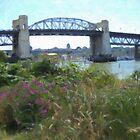 The Burrard Bridge by Tom  Reynen
