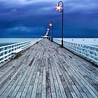 Shorncliffe Pier by Fred McKie