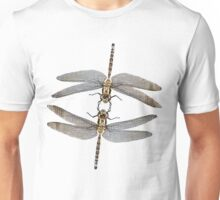 Dragonfly micro photography mirrored  Unisex T-Shirt