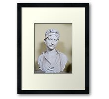 bust of woman Framed Print