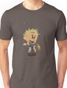 Calvin Hobbes Curse Your Sudden Unisex T-Shirt