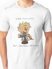 Calvin Hobbes Curse Your Sudden Unisex T-Shirt