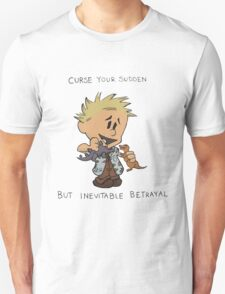 Calvin Hobbes Curse Your Sudden T-Shirt
