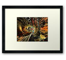 ColorFast Tiger Fx  Framed Print