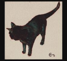 Bombay Black Cat  oil painting No. 1 Baby Tee