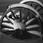 snow on wheel by Joe  LaFata