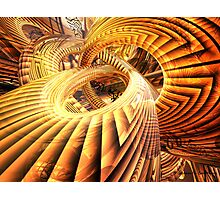 Abstract that Twisted Escher Fx Photographic Print