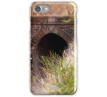 The old Swan view train tunnel iPhone Case/Skin