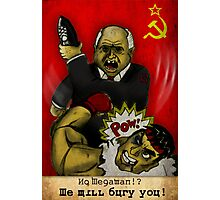Khrushchev Vs Capcom  Photographic Print