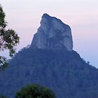 glasshouse mountains  by warren dacey