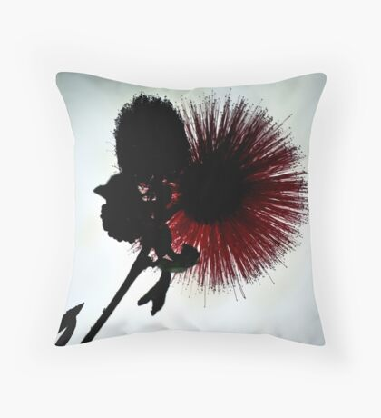 Subtle Red Throw Pillow