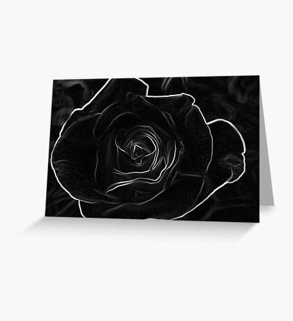 Toned Rose Greeting Card