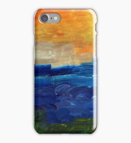 Afternoon Waves iPhone Case/Skin