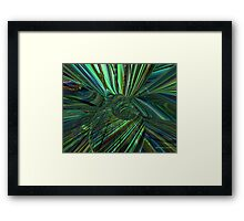 Radiant Flower Fx  Framed Print