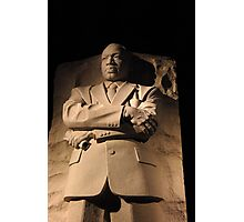 MLK, Jr. Memorial Photographic Print