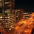 Baltimore at Night by Robin Lee