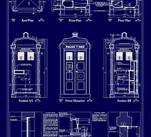 Doctor who TARDIS design  by Katie358
