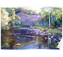 Rocks & Ripples - Howqua River Poster