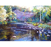 Rocks & Ripples - Howqua River Photographic Print