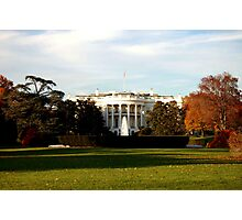 White House Photographic Print