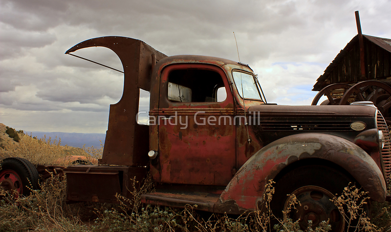 Rusty Ford by Candy Gemmill
