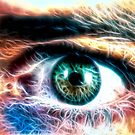 HDR Eye (fractal) by James Zickmantel