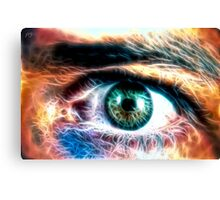 HDR Eye (fractal) Canvas Print