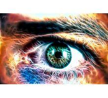 HDR Eye (fractal) Photographic Print