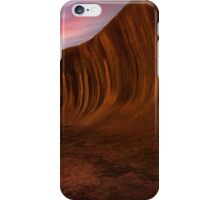 Wave rock, Hyden, Western Australia  iPhone Case/Skin