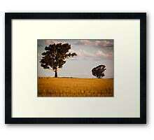 Parkes Countryside Framed Print
