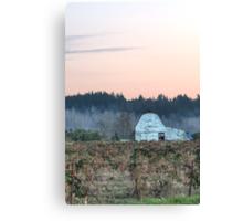 Berry Farm as Dusk Nears Canvas Print