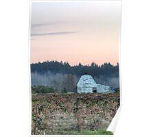 Berry Farm as Dusk Nears Poster