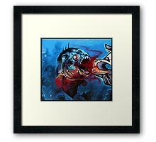 Piranha Framed Print