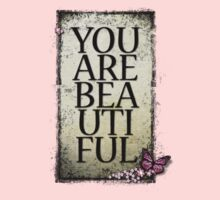 You Are Beautiful Kids Tee
