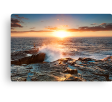 Morning Fisher -2 Canvas Print