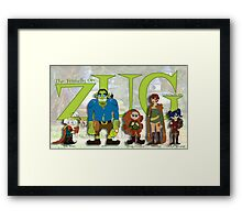 ZUG and Friends! Framed Print