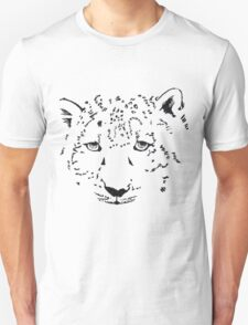 Snow is to the Leopard  T-Shirt