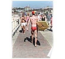Bondi Moments - Body Surfer Poster