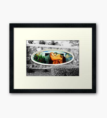 The Gated Community Framed Print