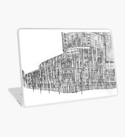 New York City Street Corner Laptop Skin