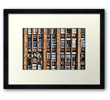 The Old Office Building Framed Print