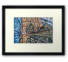 Religious Reflection Framed Print
