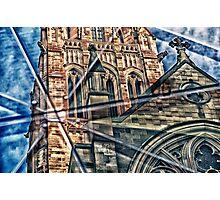 Religious Reflection Photographic Print