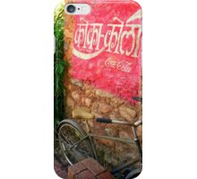 Hindi Coca-cola Ad Painted On Wall iPhone Case/Skin